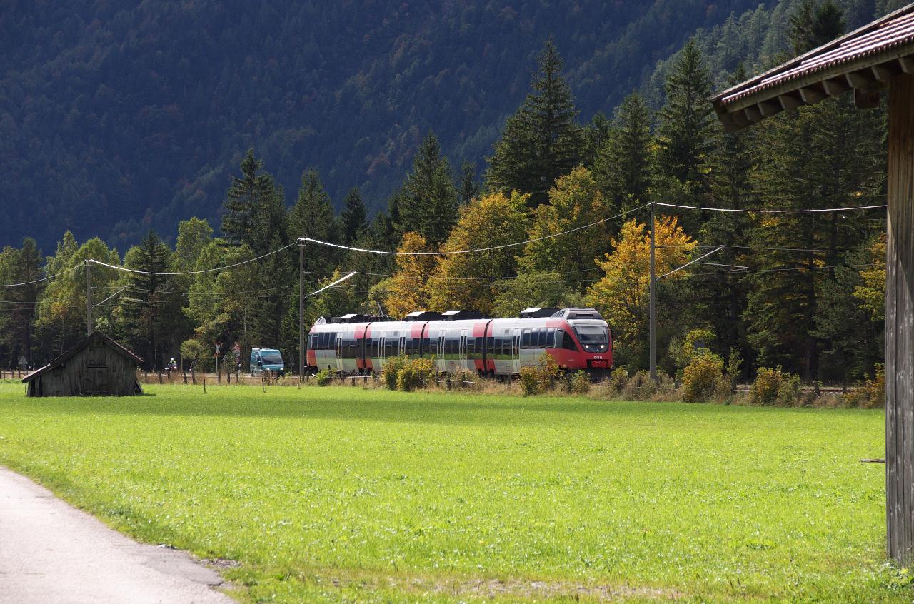 Die Mittenwaldbahn