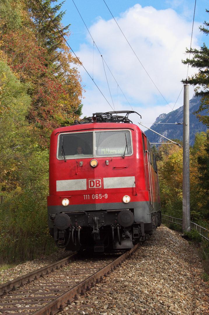 Die Mittenwaldbahn - Das letzte Jahr der Baureihe 111?
