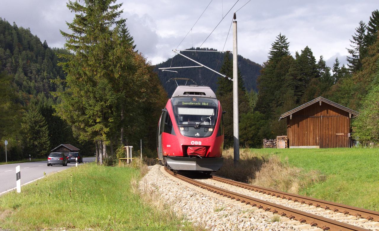 Die Mittenwaldbahn II