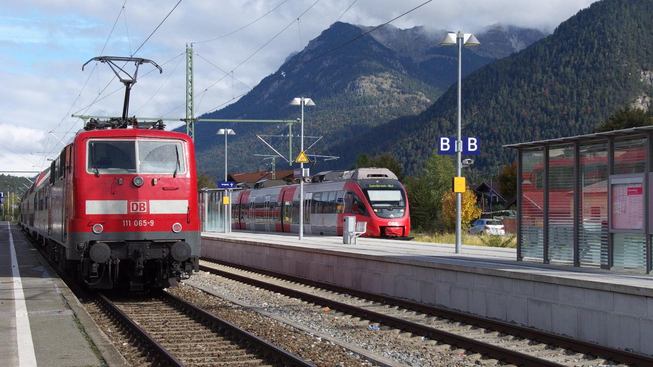 Die Mittenwaldbahn - Umsteigen bitte!