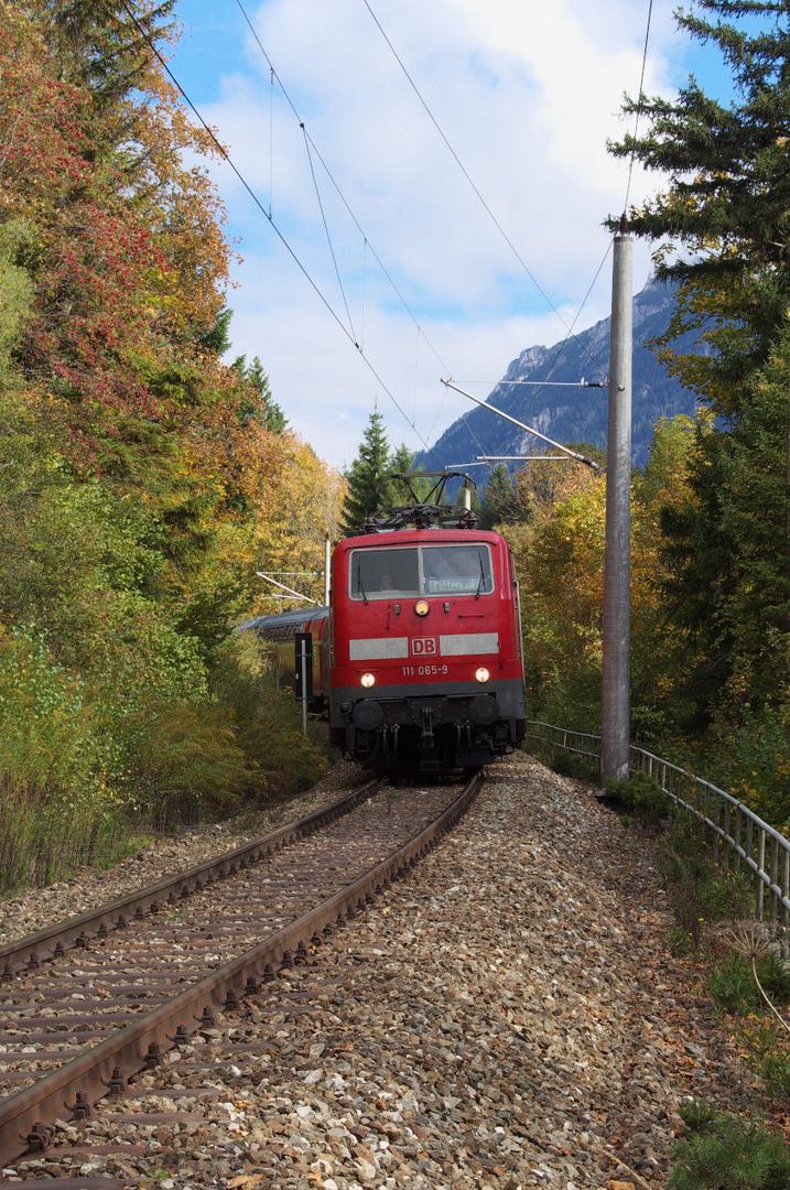 Die Mittenwaldbahn - Ziel fast erreicht II