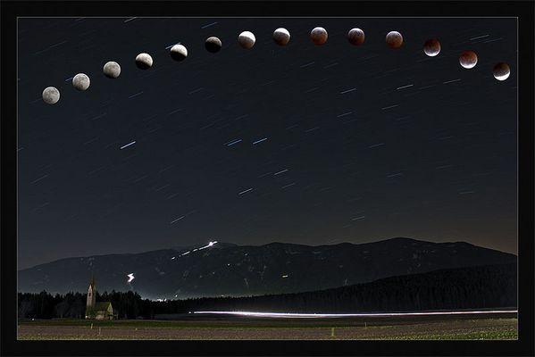 Die Mondfinsternis 2007