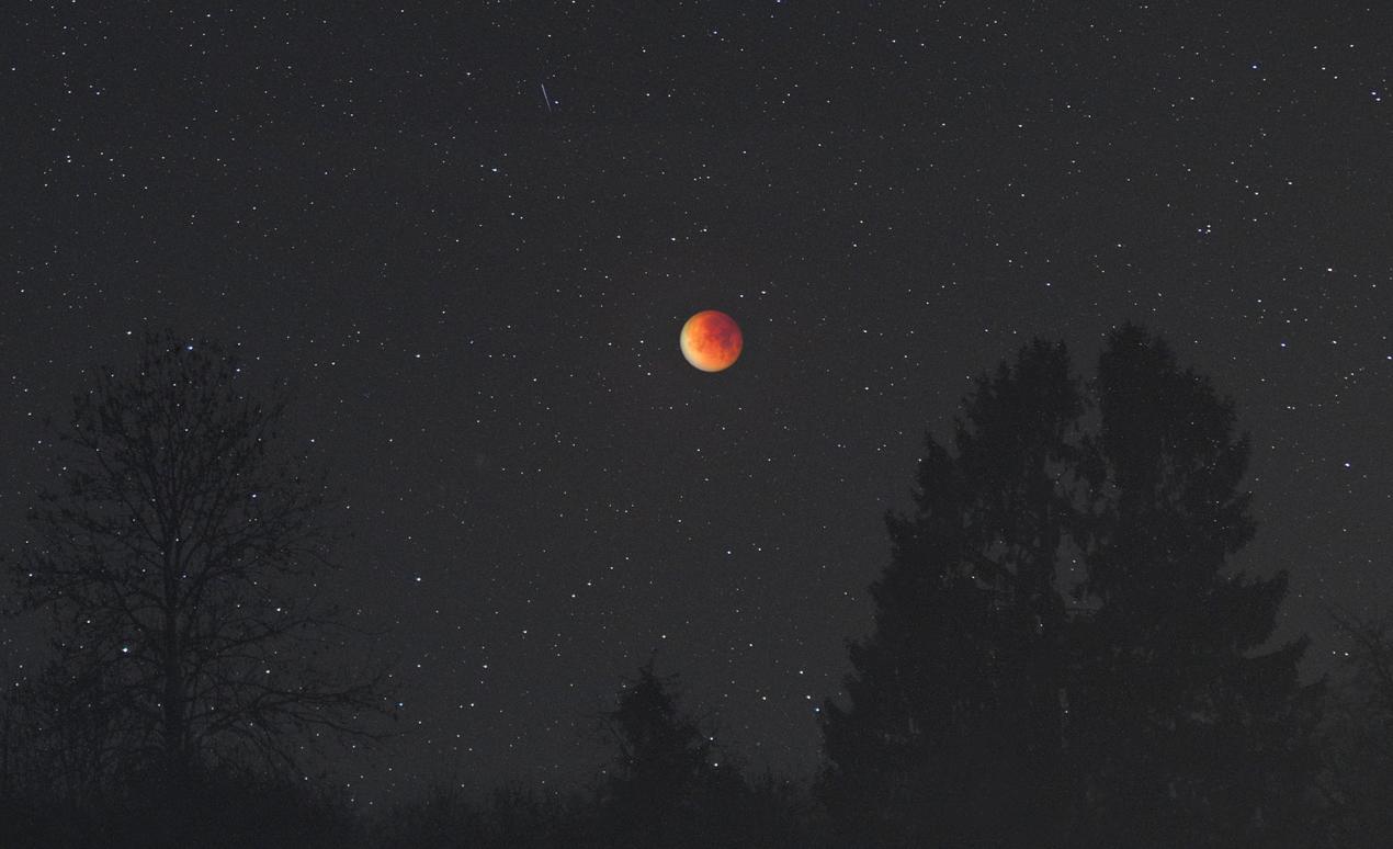 Die Mondfinsternis von 2015