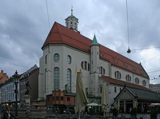 Die Moritzkirche in Augsburg