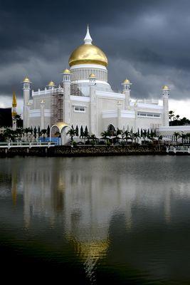 Die Moschee Sultan Omar Ali Saifuddin