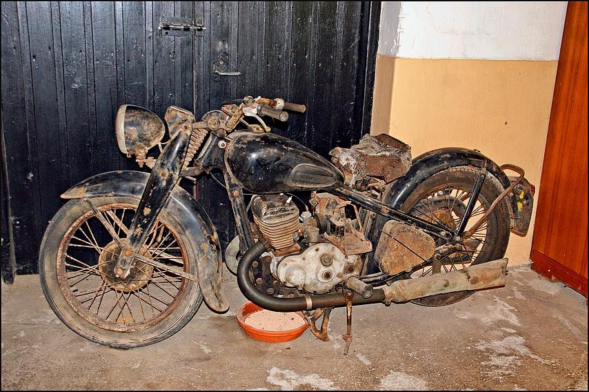 Die Motorradsaison...