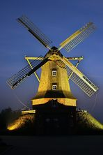 Die  Mühle am Abend