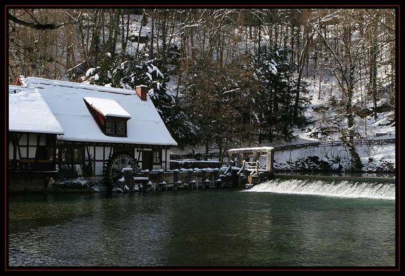 Die Mühle am Blautopf