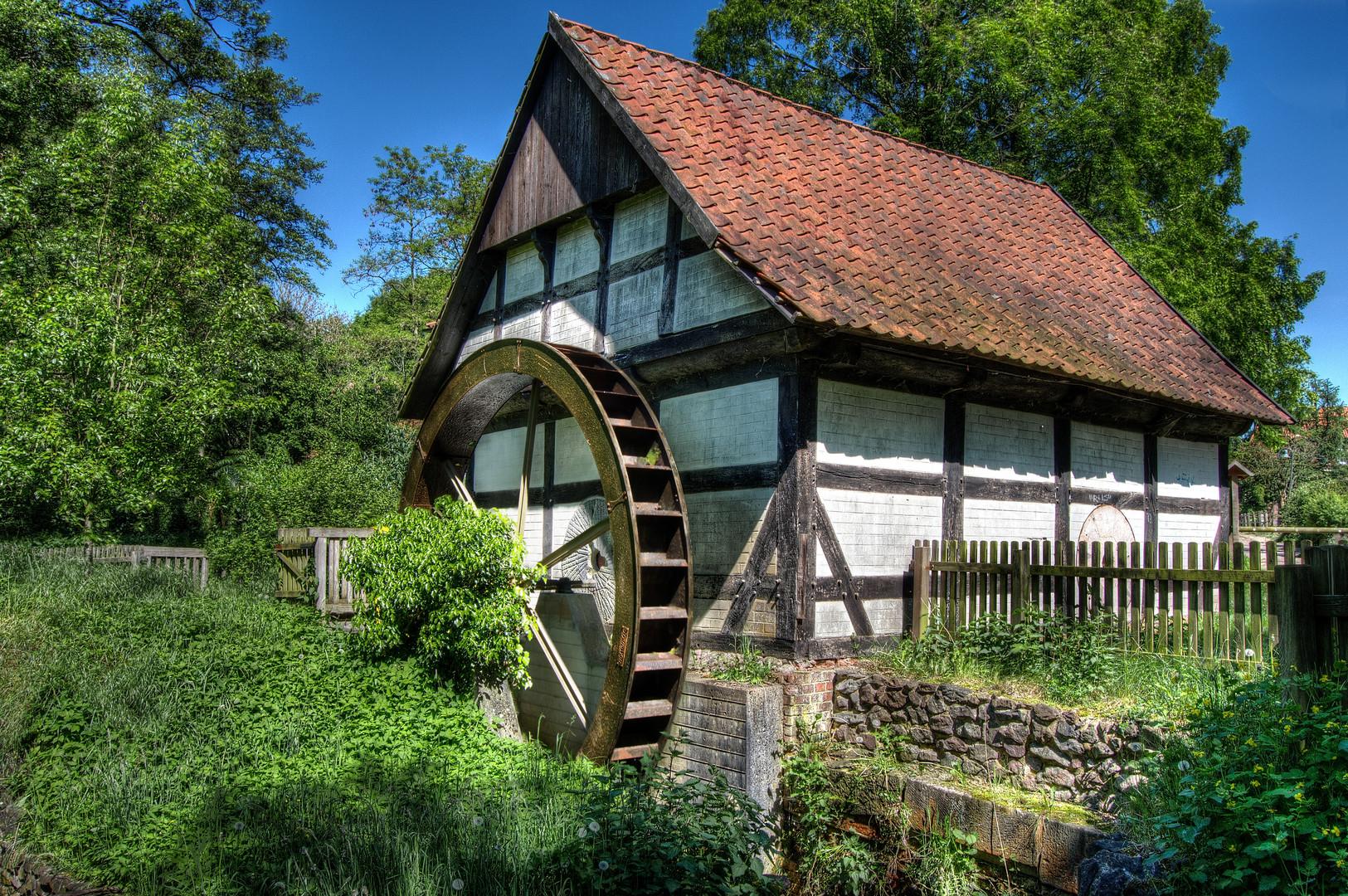 Die Mühle am Meierdamm 1682 erbaut... in Sulingen