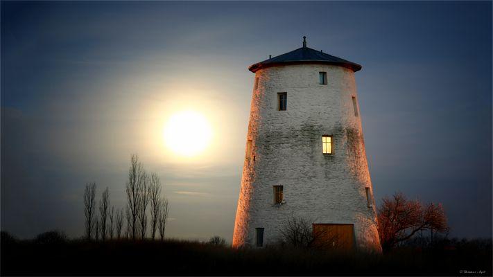 Die Mühle bei Unseburg