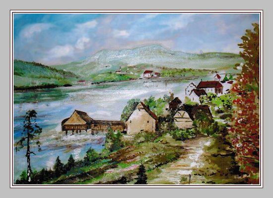 Die Mühle von Rheinheim