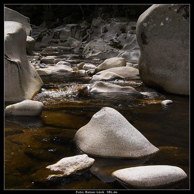 Die Murg beißt auf Granit