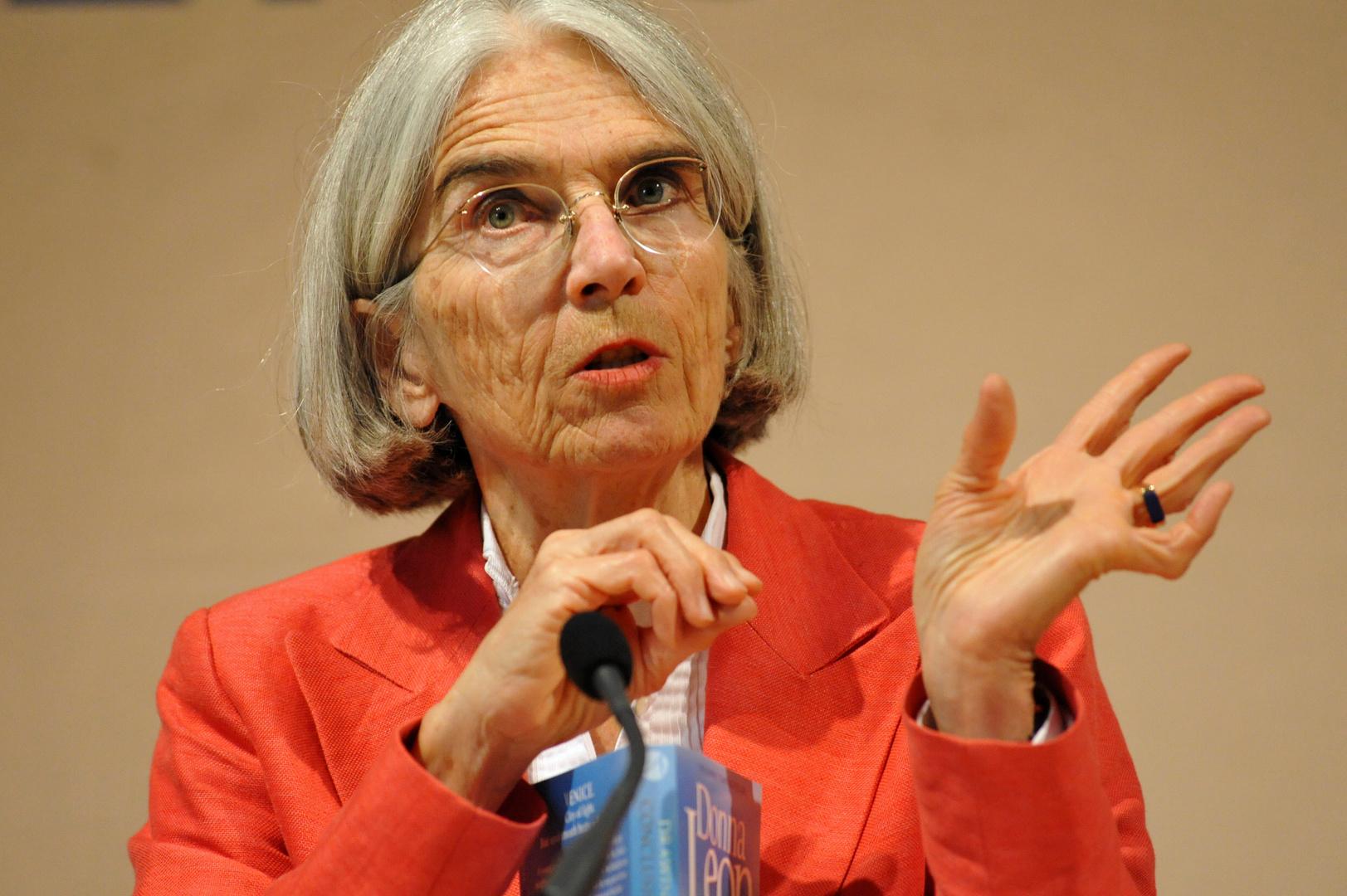 """Die """"Mutter"""" des Commissario Brunetti: Donna Leon beim Eifel Literaturfestival"""