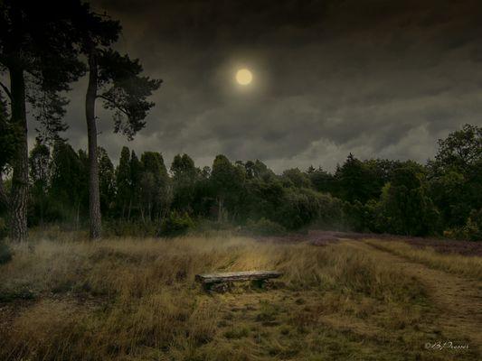 Die Nacht bricht an ...
