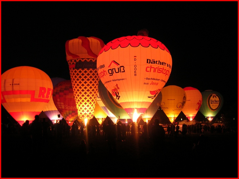 Die Nacht der Ballone