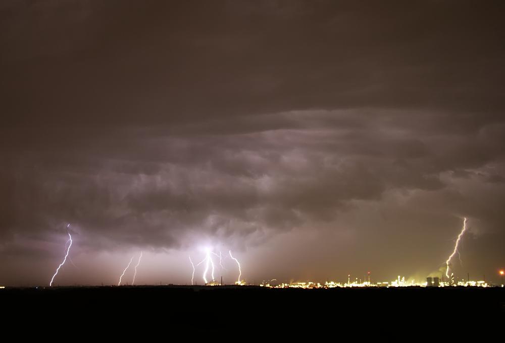 Die Nacht der Blitze
