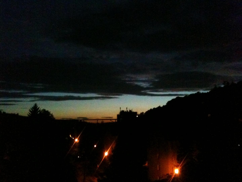 die Nacht leuchtet wie der Tag...