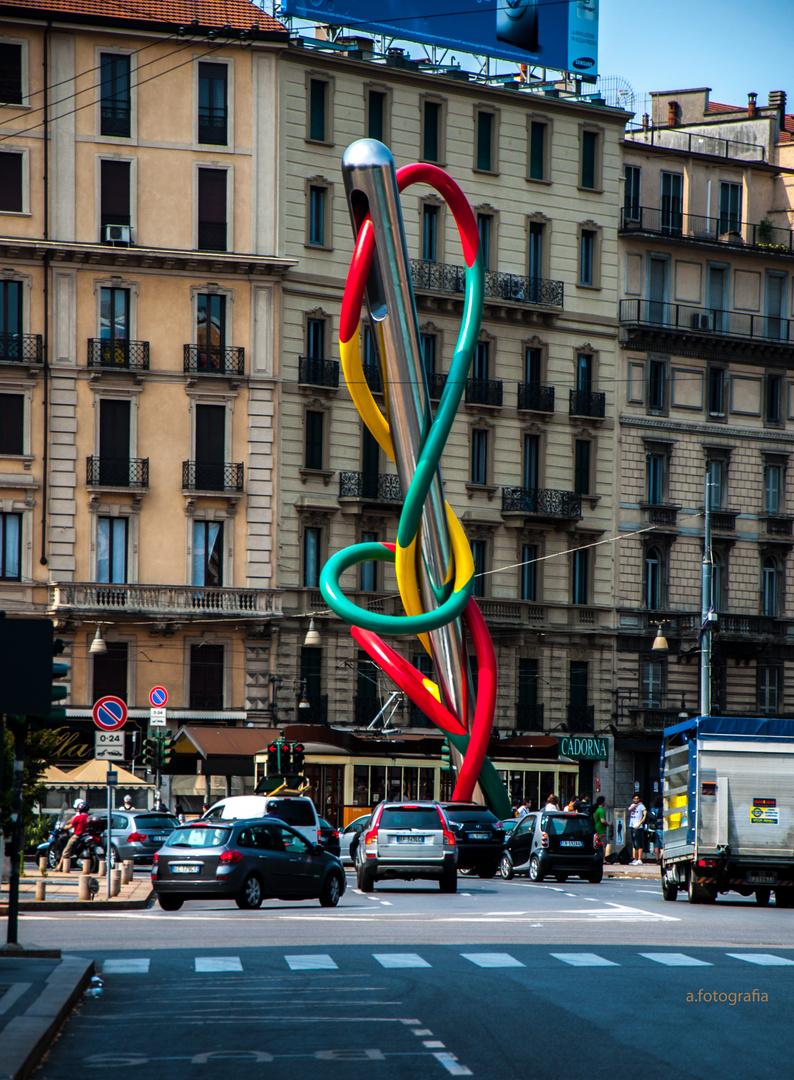 Die Nadel von Mailand......