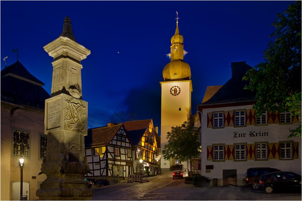 Die nächtliche Altstadt