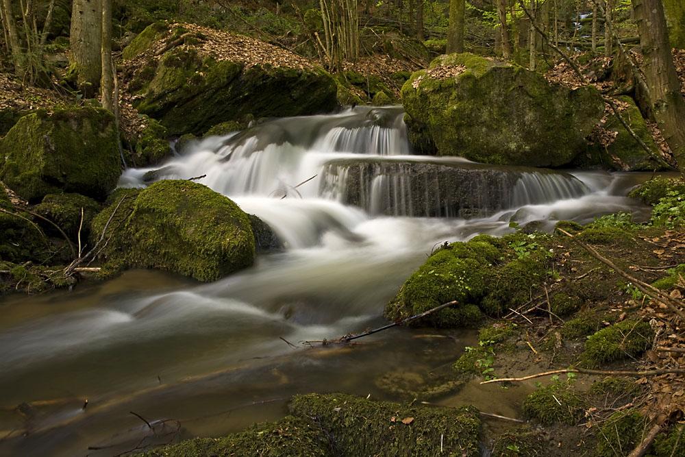 Die Nagelsteiner Wasserfälle im Frühjahr