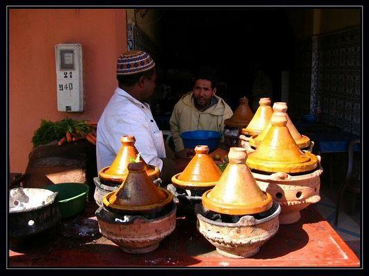 Die nationale Leibspeise von Marokko - Tajine