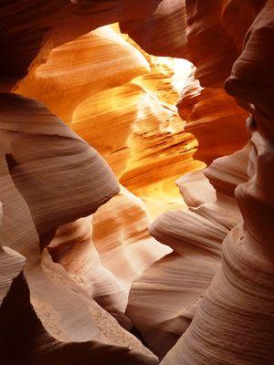 Die Natur malt (Antelope Canyon USA)