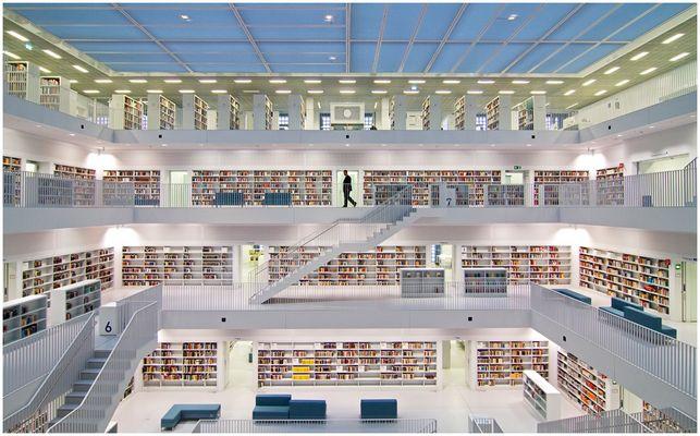 Die neue Bibliothek