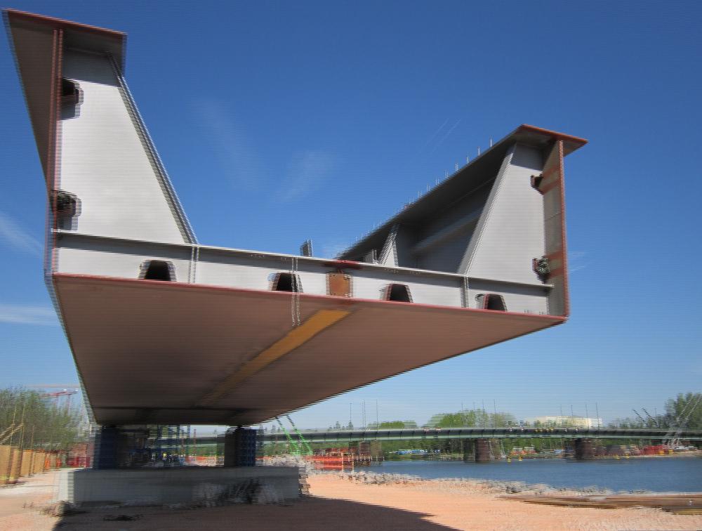 Die neue Carl-Ulrich-Brücke