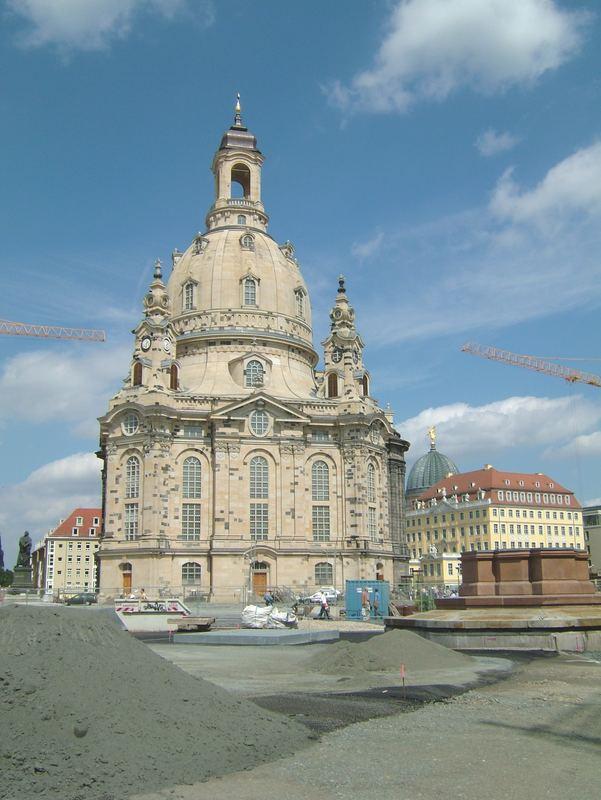 Die neue Frauenkirche