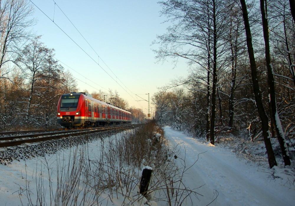 Die Neue im Schnee