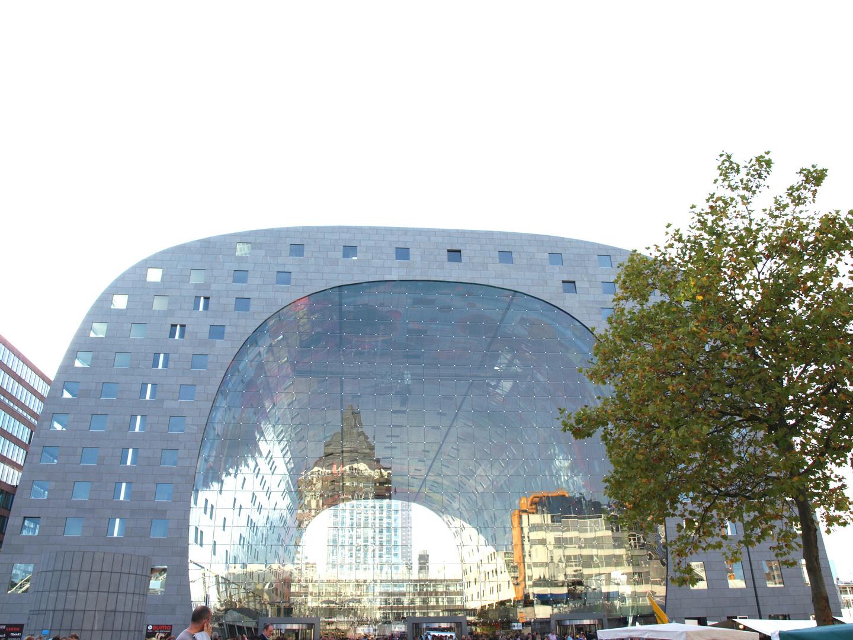 Die Neue Markthalle von Rotterdam -9- Ende