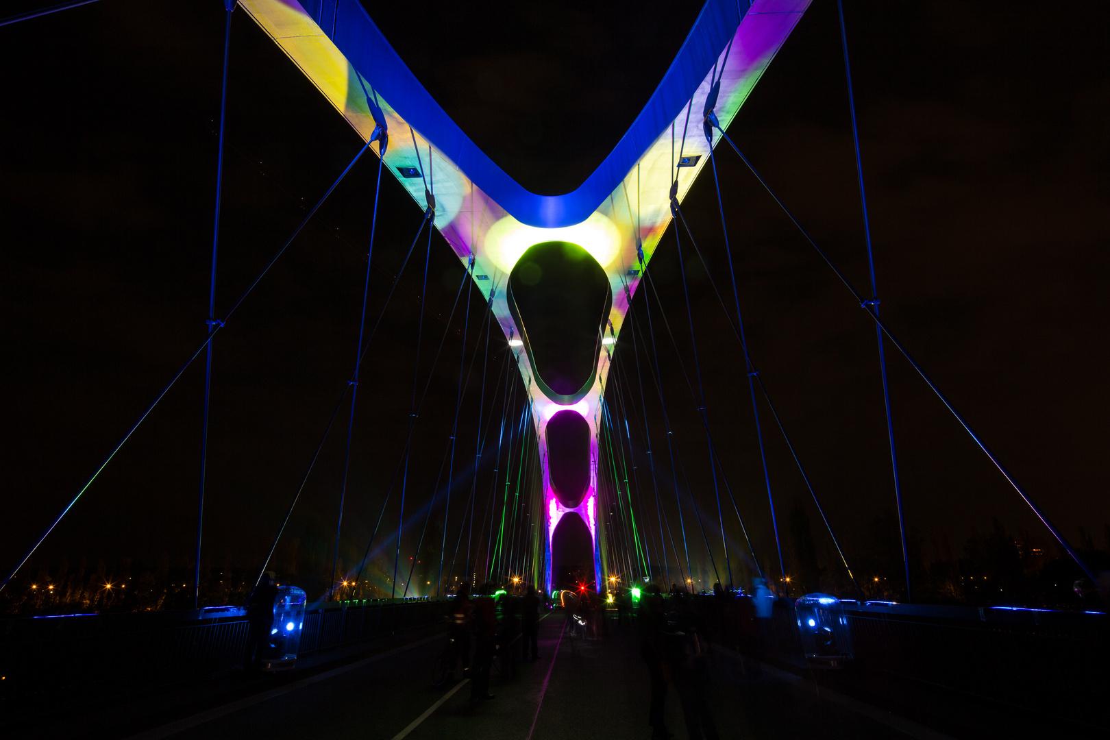 Die neue Osthafenbrücke 1