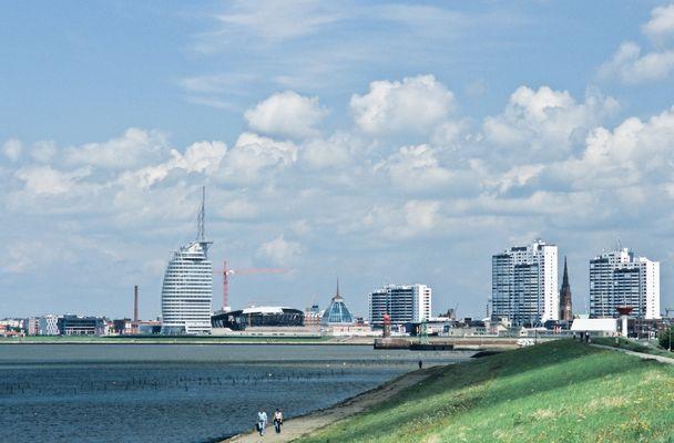 Die neue Silhouette von Bremerhaven