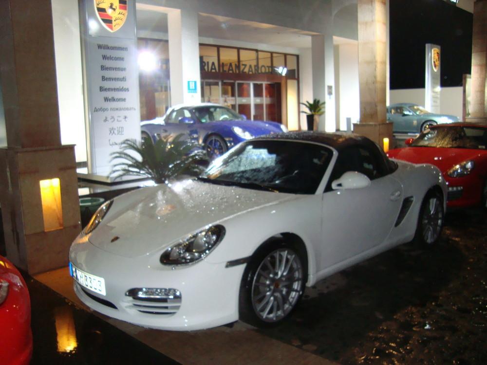 Die neuen Porsches auf Lanzarote