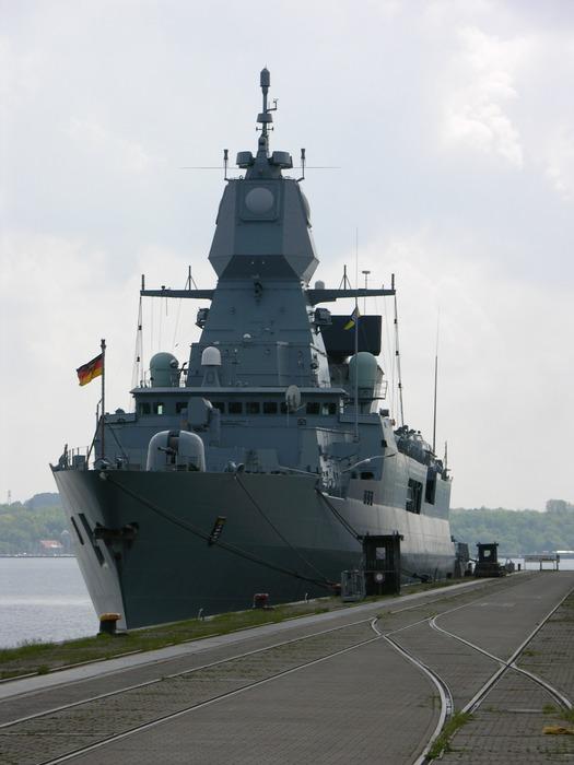Die neueste Fregatte der deutschen Marine