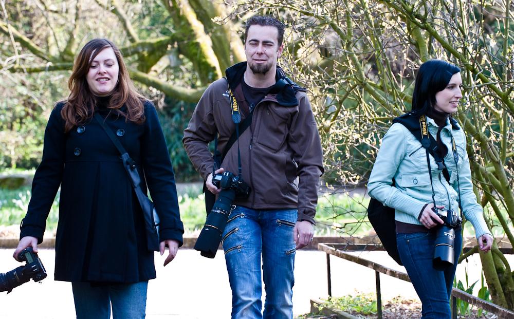 Die Nikon-Familie... Augen zu und durch ;)