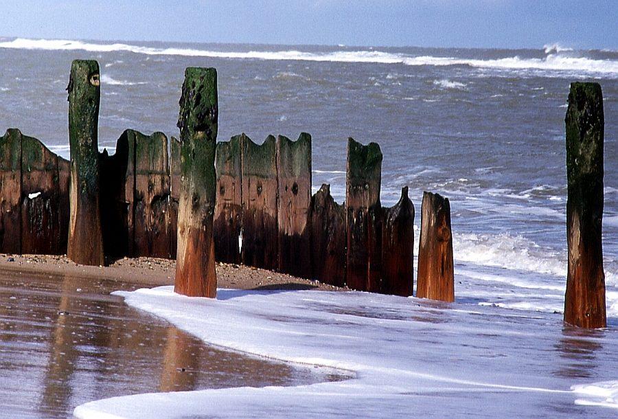 Die Nordsee nagt (Englische Ostküste)
