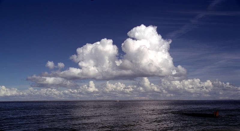 Die Nordsee. Unendliche Weiten, wir schreiben den.....