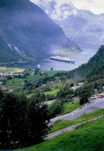 Die Norway, ex-France in Geiranger (3)