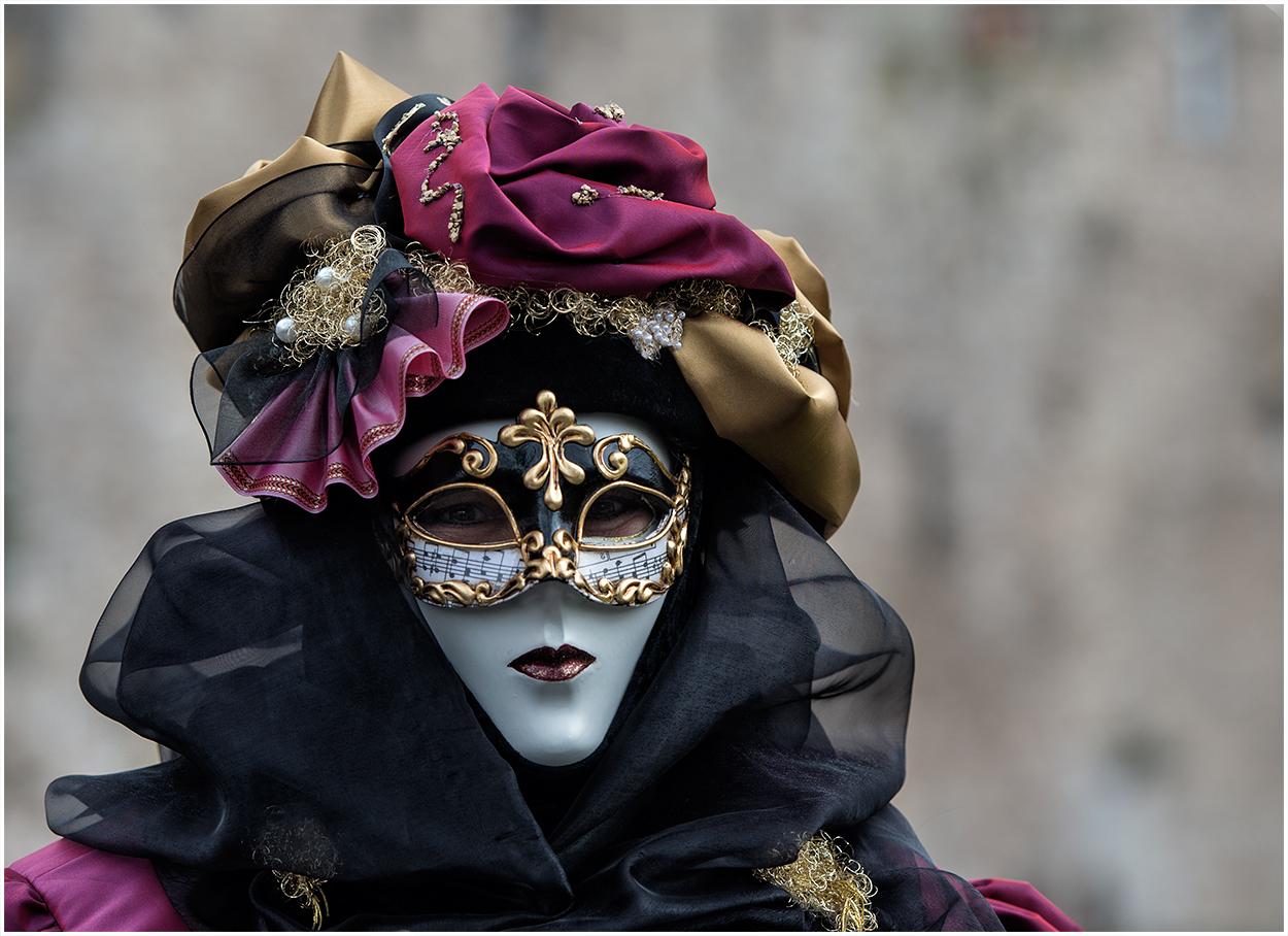 Die Noten - Maske !