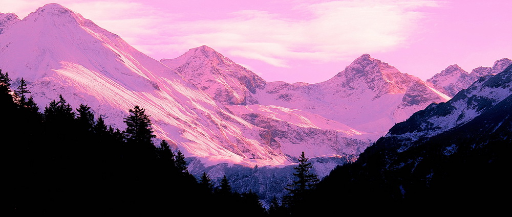 Die Oberstdorfer Berge diese Woche