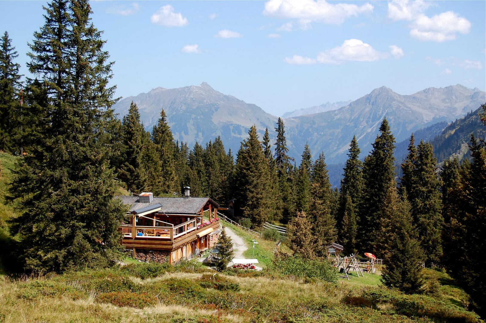 Die Obwaldhütte ist immer einen Besuch wert…
