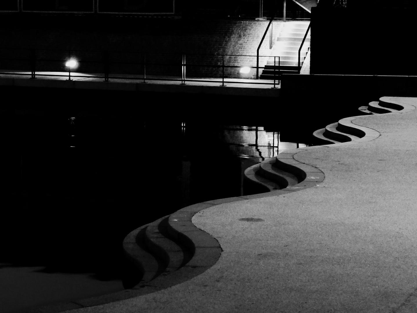Die Offenbacher Hafentreppe