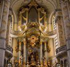 Die Orgel der Frauenkirche in Dresden