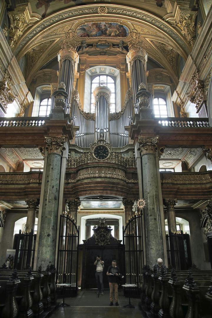 Die Orgel der Jesuitenkirche in Wien