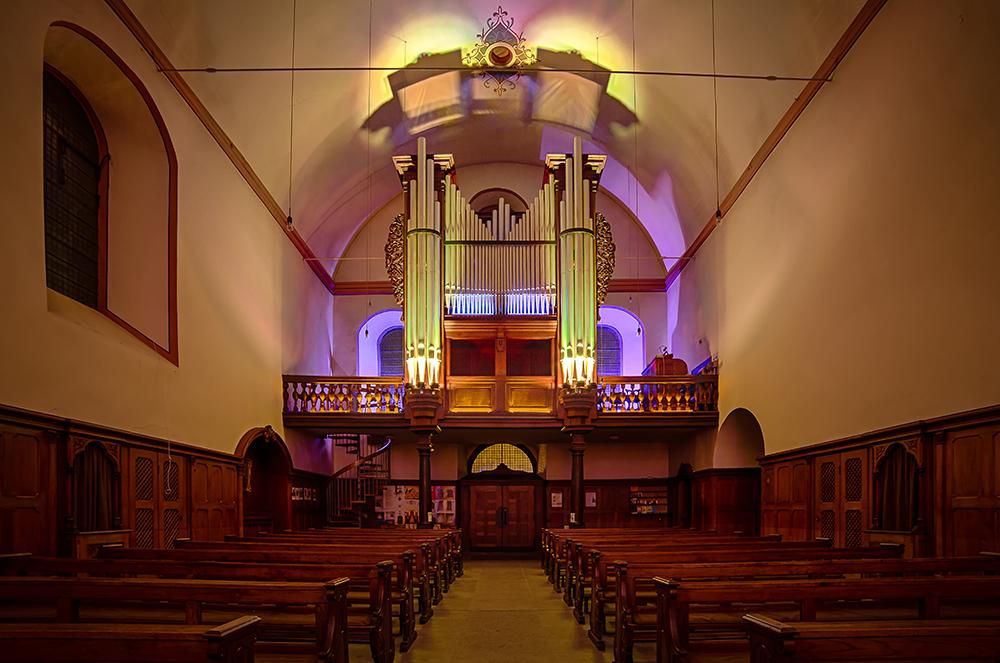 Die Orgel der Kapuzinerkirche in Koblenz-Ehrenbreitstein (1)