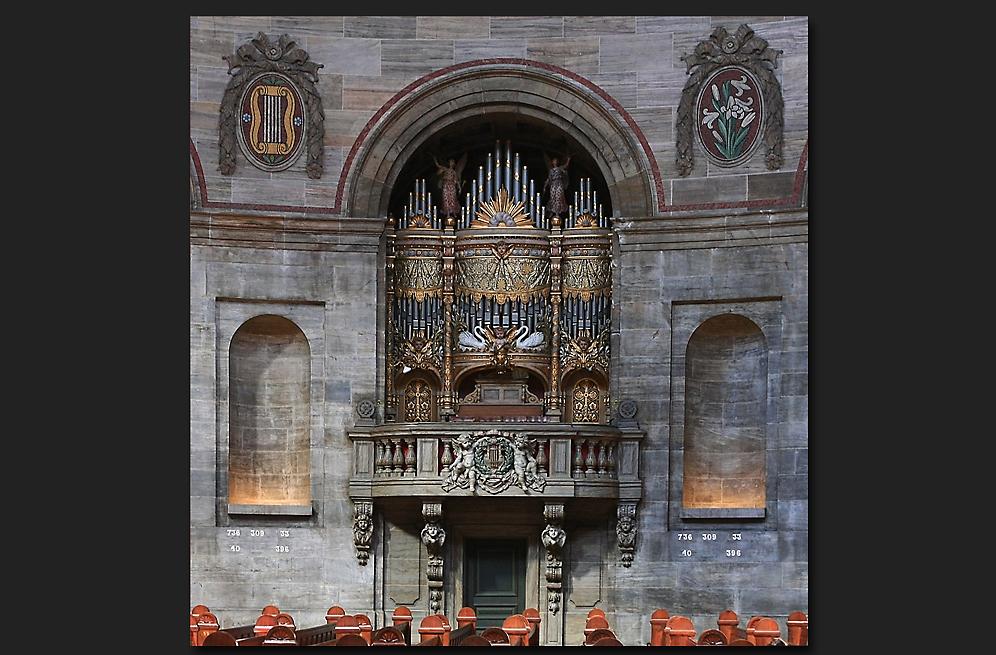 Die Orgel der Marmorkirche