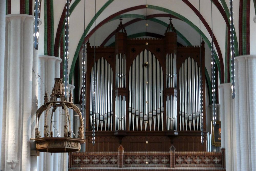 Die Orgel der Nikolaikirche