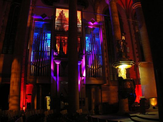 Die Orgel in der Heilig Geist Kirche, Heidelberg