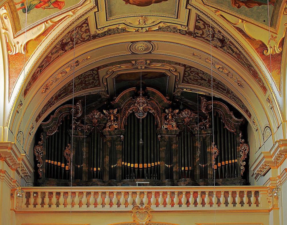 die Orgel von St. Lorenz